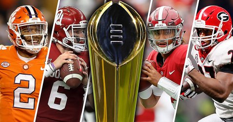 College-Football-Playoff-semifinals-Kelly-Bryant-Baker-Mayfield-Jalen-Hurts-Nick-Chubb-championship-trophy-white-by-Getty-Images-DRC_1234_fdtsga_qdhlos