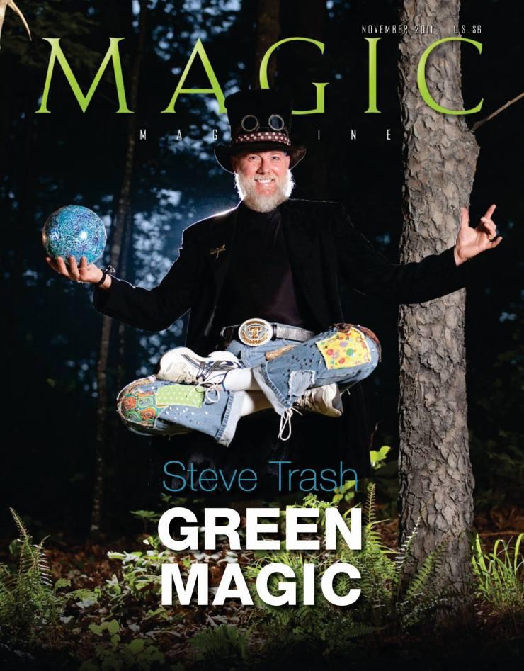 steve magazine cover